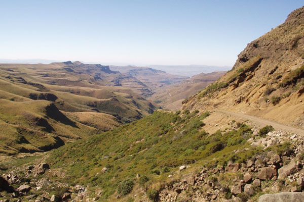 Sani Pass Scenery